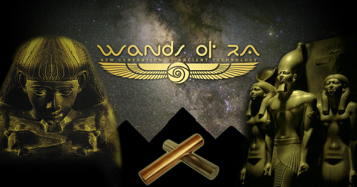 Wands Of Ra Ancient Egyptian Healing